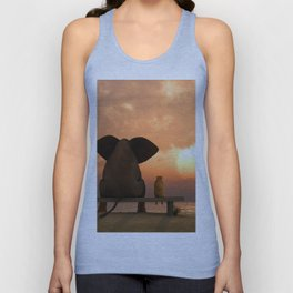 Best friends Unisex Tank Top