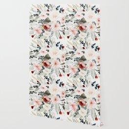 Loose Watercolor Bouquet Wallpaper