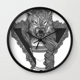 shewolf Wall Clock