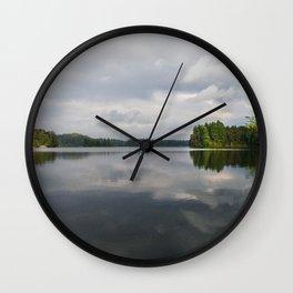 St. Regis pond in NY Wall Clock
