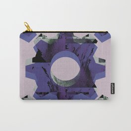 IMPROBABLE GREASE REEL blue Carry-All Pouch