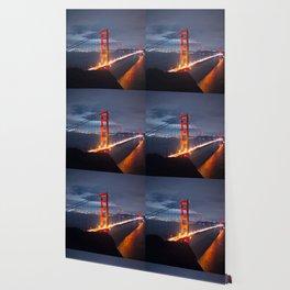 Golden Gate Bridge at Night | San Francisco, CA Wallpaper