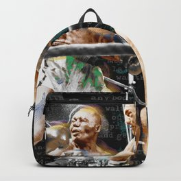 Rocky Marciano V Jersey Joe Walcott Backpack