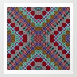 Albulbs Pinwheels Art Print