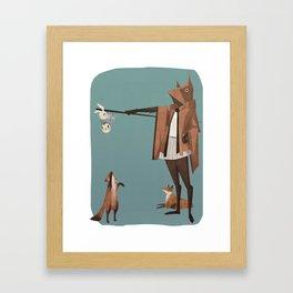 The Fox Shepherd Framed Art Print