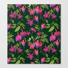 April blooms(Fuchsia)  Canvas Print