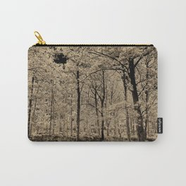 Sepia Forest art Carry-All Pouch