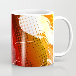 Man Fitness Pop Stylised Art Coffee Mug