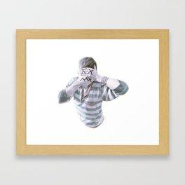 Crosseyed Framed Art Print