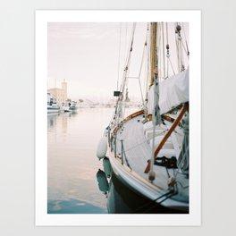 La Ciotat - Boat Art Print