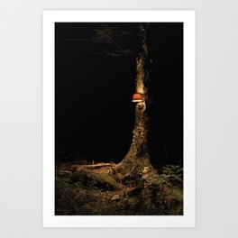 lamp test Art Print
