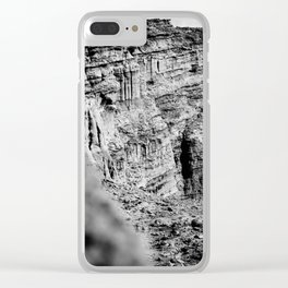POINT TO POINT Clear iPhone Case