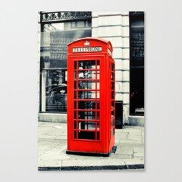 British Telephone Booth Canvas Print