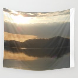Late winter morning Wall Tapestry
