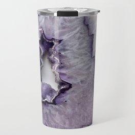 Purple Frost Agate Travel Mug