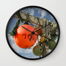 Flotsam Jetsam Wall Clock
