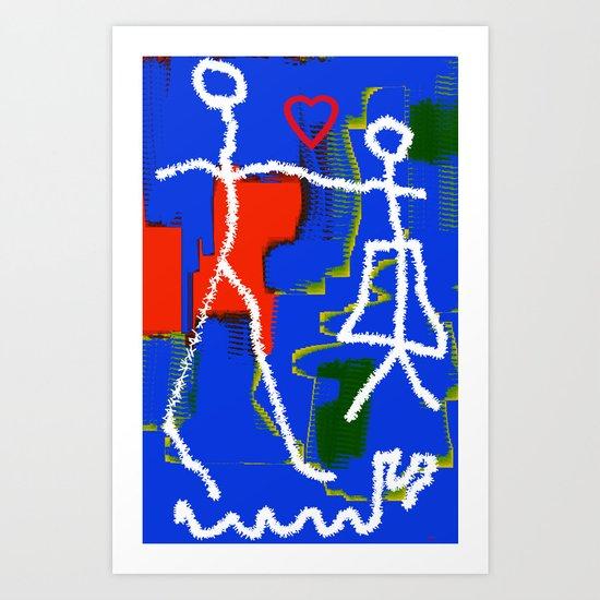 different kind of love Art Print