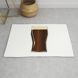 Pint Beer Glass Rug