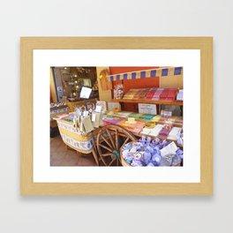 French Soaps Framed Art Print