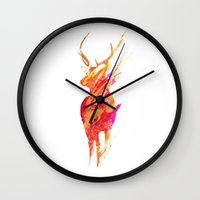 road Wall Clocks featuring On the road again by Robert Farkas