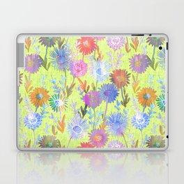 Gillian Floral Lime Laptop & iPad Skin