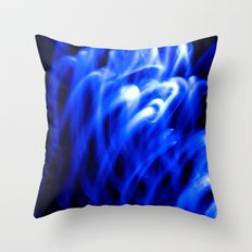 Nothing But Blue #1 Throw Pillow