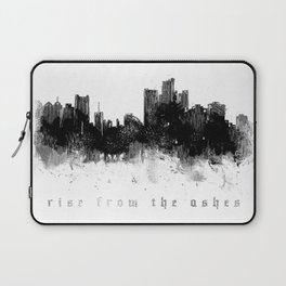 Detroit Rise From The Ashes Laptop Sleeve
