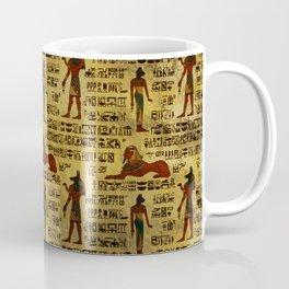 Egyptian Decorative hieroglyphics Pattern Coffee Mug
