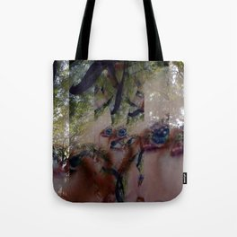Inflate territory surge: unwind generous attitude. Tote Bag