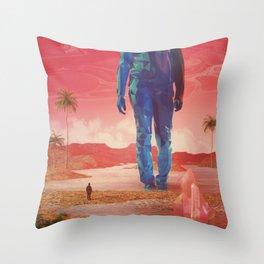 Selfscape dream Throw Pillow