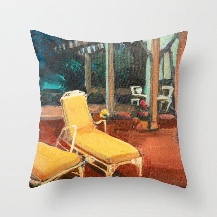 Golden Girls Lannai Throw Pillow