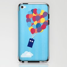Up and Away - Doctor Who iPhone & iPod Skin
