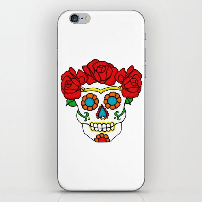 Rose Calavera iPhone Skin