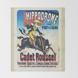 Hippodrome Paris Throw Blanket
