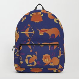 Zodiac signs set Backpack