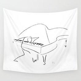 Keith Jarrett – Improvisations in Jazz Wall Tapestry