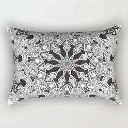 MANDALA #10 Rectangular Pillow