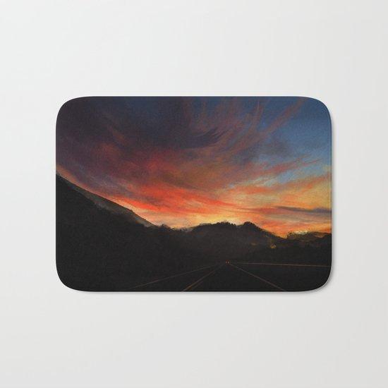 Sunset Road Bath Mat