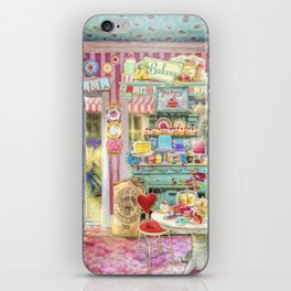 The Little Cake Shop iPhone Skin