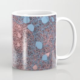 Rose Quartz and Serenity Neurons Coffee Mug