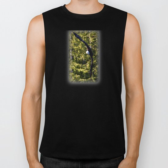 Eagle: Made to Fly Biker Tank