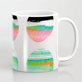 colorful circles pattern design Coffee Mug