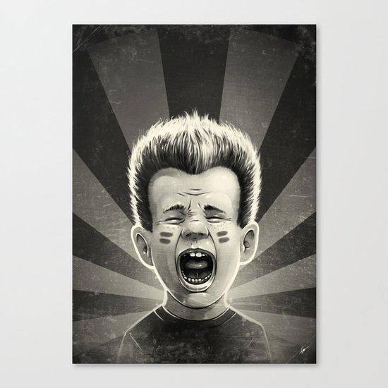 Noise! Canvas Print