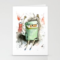 run Stationery Cards featuring RUN! by Travis Sykes