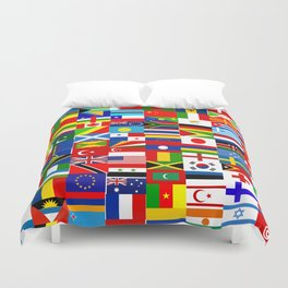 Flag Montage Duvet Cover