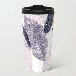 Abstract leaves Travel Mug