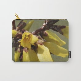 See Me Now Forsythia Carry-All Pouch