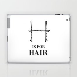 Hair Fashion Bobby Pins Laptop & iPad Skin
