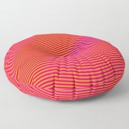 Fancy Curves Floor Pillow