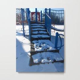 Winter's Playground Metal Print